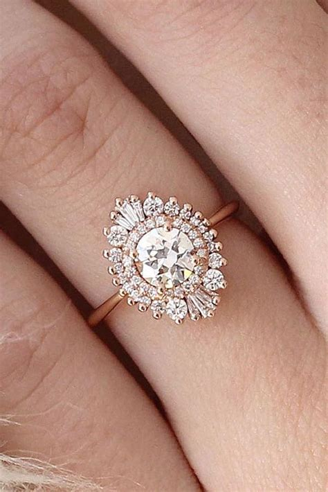 36 vintage engagement rings with stunning details ring