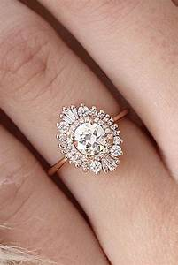 33 vintage engagement rings with stunning details With vintage looking wedding rings