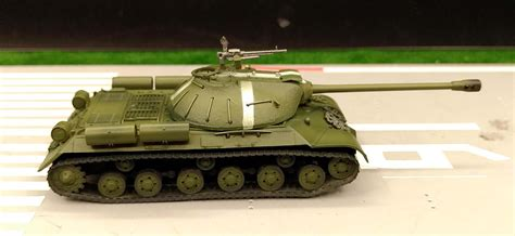 Russian Is-3m Js-3 Stalin Heavy Tank Hungary 1956 1/72 No