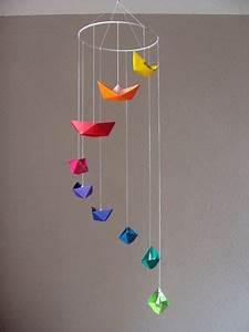 Mobile Basteln Origami : more glitter and color my work pinterest kinderzimmer basteln und kita ~ Orissabook.com Haus und Dekorationen