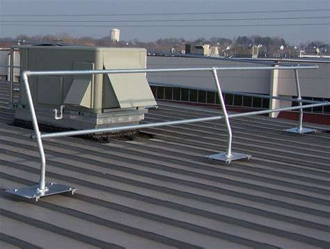 Standing Seam Metal Roof Safety Railing Systems