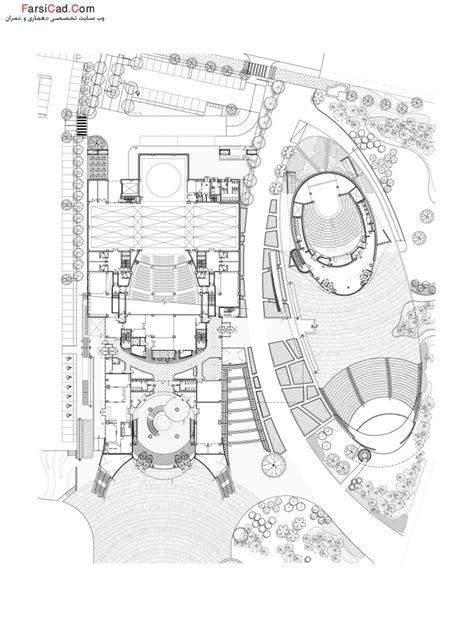 طرح و نقشه های مرکز هنرهای نمایشی در کره جنوبی ( مجتمع فرهنگی هنری