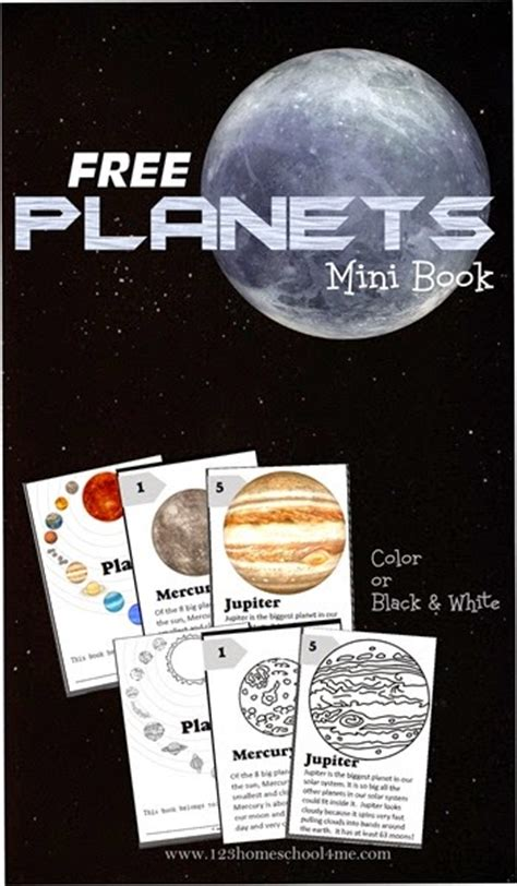 planets mini book  homeschool deals