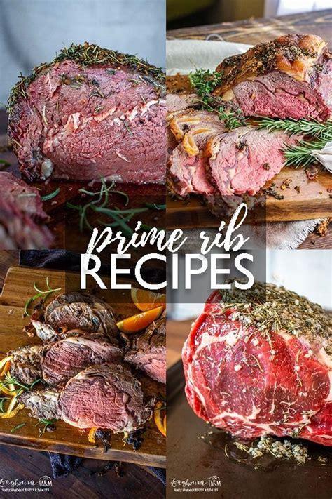 What to serve it with. Prime Rib Recipes • Longbourn Farm in 2020 | Rib recipes ...