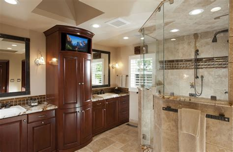 large master bathroom layout ideas saratoga home remodeling spotlight gallery cage design build