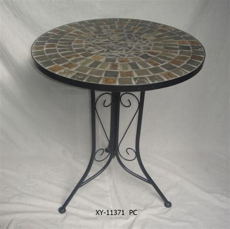 china metal mosaic table outdoor garden furniture china