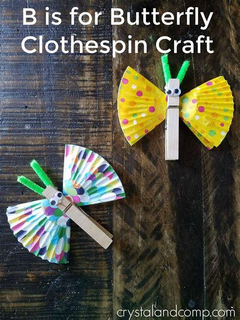 butterfly clothespin craft for preschoolers butterfly 830   da192a3a8c1d0cdf176539189eaba09c