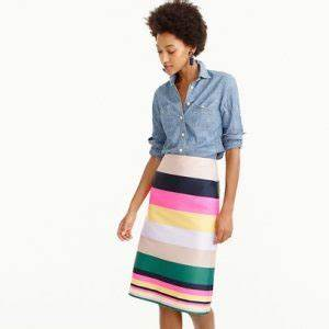 How To Style A Multi Colored Skirt