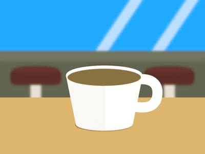 My latest creepy gif from the game i am making :d imagine all of the heads will stare you down this pool shot. Coffee Surprise by Alec Miller   Dribbble   Dribbble