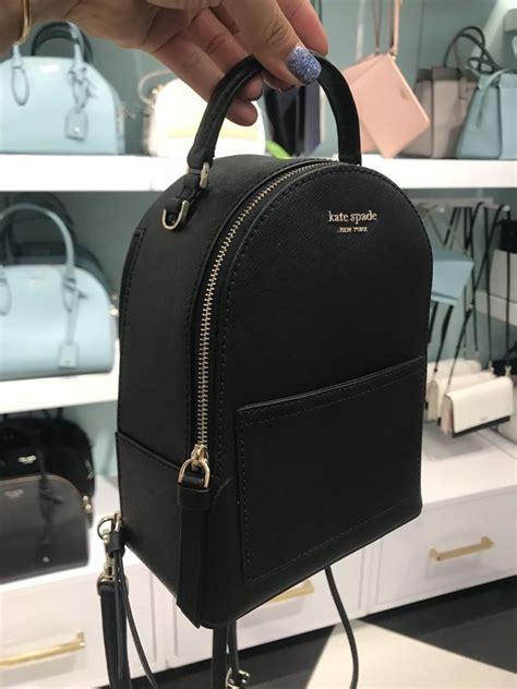 kate spade mini convertible backpack black  sale  katy tx   mini backpack purse