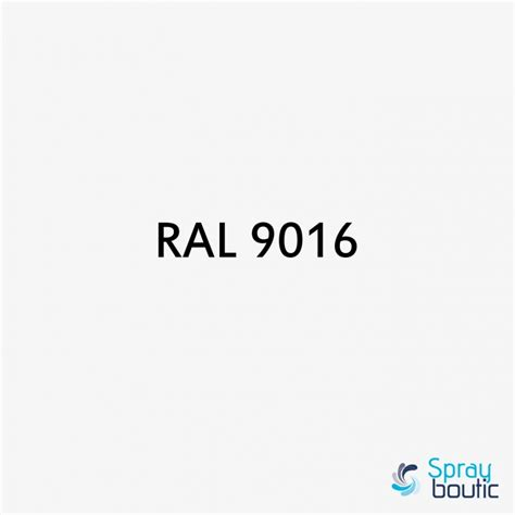 Ral Farbe 9016 by Pinceau Retouche Ral 9016 Blanc Signalisation Motip