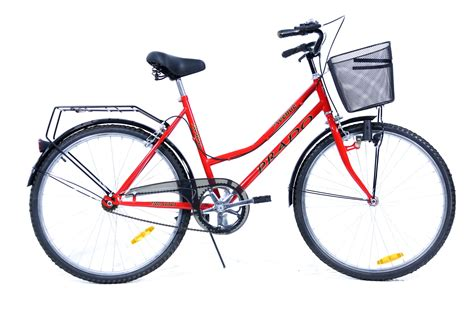bicyclette de ville 26 pouces dame prado cb 26d