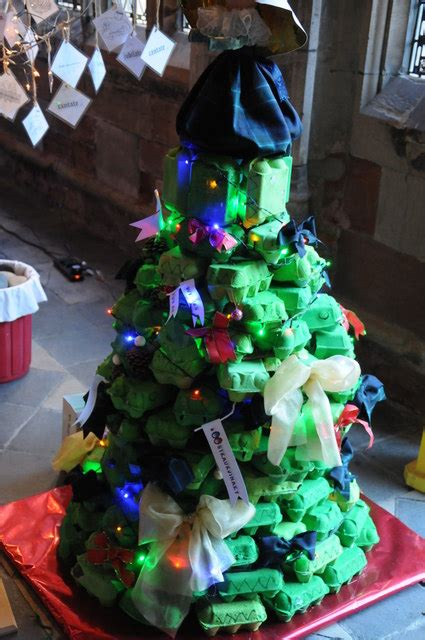 egg box christmas tree worcester 169 philip halling cc