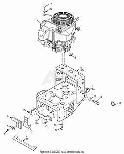 Scag Swz36a-481fs  S  N G0000001-g0099999  Parts Diagram For Engine Deck