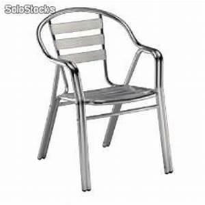 Chaise Terrasse Restaurant : chaise en aluminium bar restaurant terrasse ~ Teatrodelosmanantiales.com Idées de Décoration