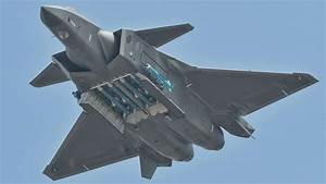 China's J-20 Stealth Fighter Stuns By Brandishing Full ...