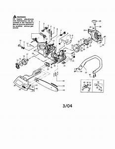 Poulan Patriot 1900 Le Gas Chainsaw Parts