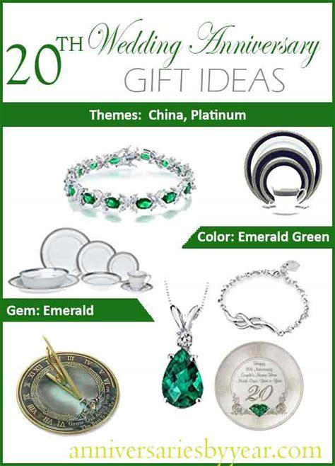 20th wedding anniversary gift twentieth anniversary 20th wedding anniversary gift ideas