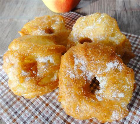 beignets aux pommes cannelle aux fourneaux