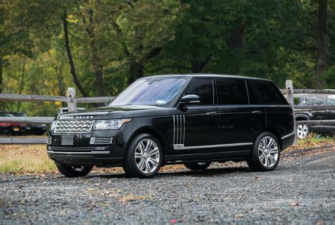 2015 Land Rover Range Rover Autobiography Lwb Black