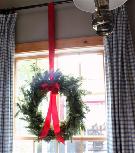 christmas wreaths for windows window wreath christmas pinterest