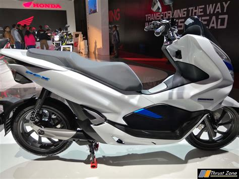 Honda Pcx 2018 Electric by Honda Pcx Electric Scooter Revealed At Auto Expo 2018