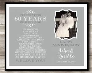 60th wedding anniversary gift ideas gift ftempo With 60 wedding anniversary gift
