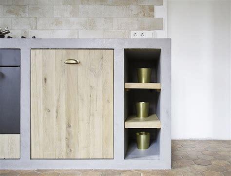 concrete kitchen cabinets bold  unusual ideas  modern homes
