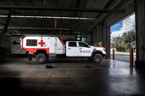 nissan ultimate service titan   red cross ready rescue