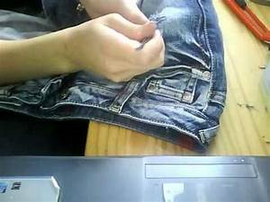 Lcher Fr Eine Zerrissene Jeans YouTube