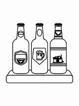 Ausmalbilder Flasche Malvorlagen Ausdrucken Kostenlos Zum Bottle Coloring sketch template