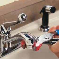 kitchen faucet clogged unclog a kitchen faucet aerator the family handyman