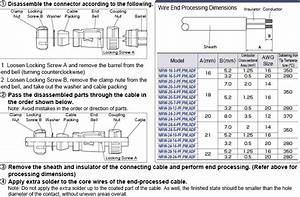 Straight Plug Connector