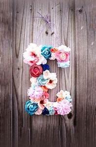 Buchstaben Deko Kinderzimmer : buchstaben gestalten mit bunten fr hlingsblumen fr hling dekoration wohnen dekoration im ~ Orissabook.com Haus und Dekorationen
