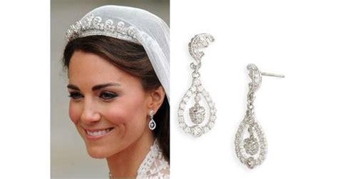 Kate Middleton Wedding Earrings