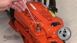 Chainsaw Fuel Filter Replacement  U2013 Echo Chainsaw Repair