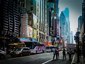 On 42nd Street | Manhattan NY US 42nd Street at 7th Avenue ...