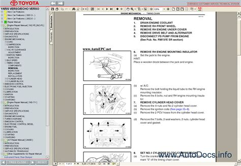 online car repair manuals free 2003 toyota echo navigation system toyota yaris verso echo 1999 2005 service manual repair manual order download