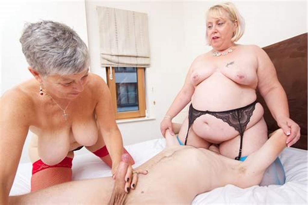 #Naughty #Grannies #Take #Turns #Riding #Cock