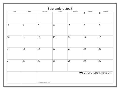 bureau plus ca calendriers septembre 2018 ld