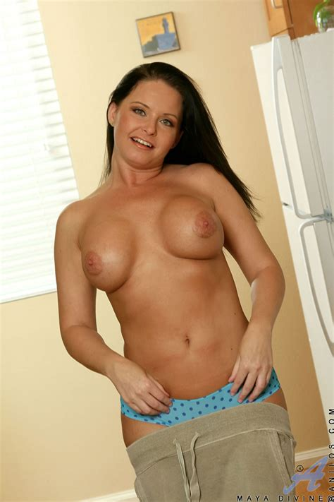 Intelligent And Classy Milf Maya Divine Exposes Her Busty