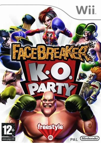 Wii Facebreaker Nintendo Games Ko Juegos Gra