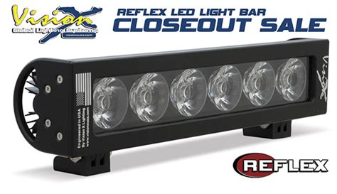 led house lights for sale vision x lighting announces closeout sale for reflex led