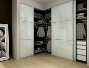 idees porte coulissante optimiser espace maison garde robe With portes coulissantes garde robe