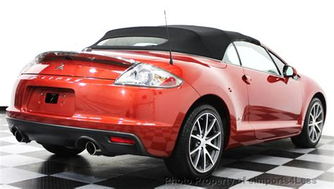 Mitsubishi Convertible by 2011 Used Mitsubishi Eclipse Certified Spyder Gs Sport