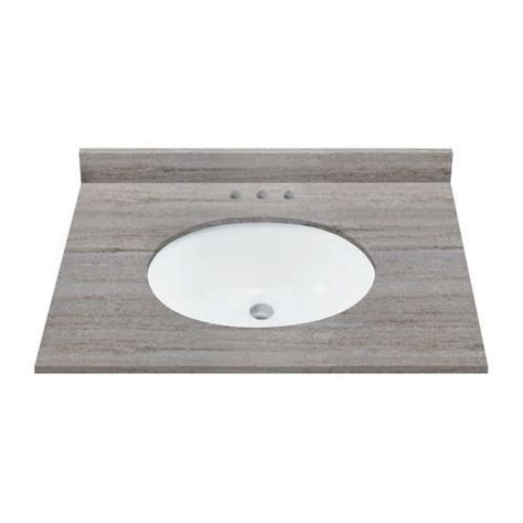 Menards Granite Bathroom Sinks by 31 Quot X 22 Quot Coastal Sands Granite Vanity Top At