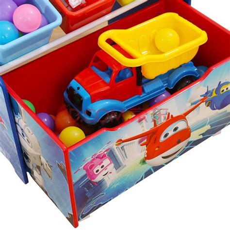 kinderregal mit boxen wings 3 in 1 spielzeugregal kinderregal mit 3 boxen und mobiler aufbewahrungskiste