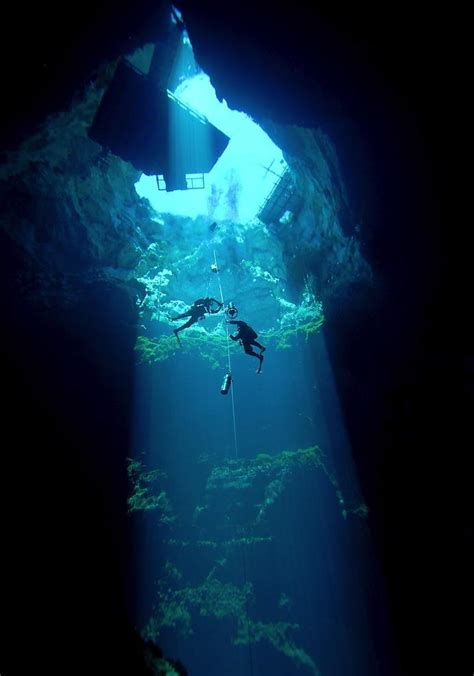 cave diving in the nullarbor is like floating in space vice