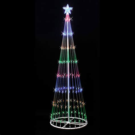 vickerman 12 light show artificial christmas tree