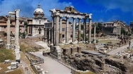 Ancient ruins in Rome wallpapers and images - wallpapers ...